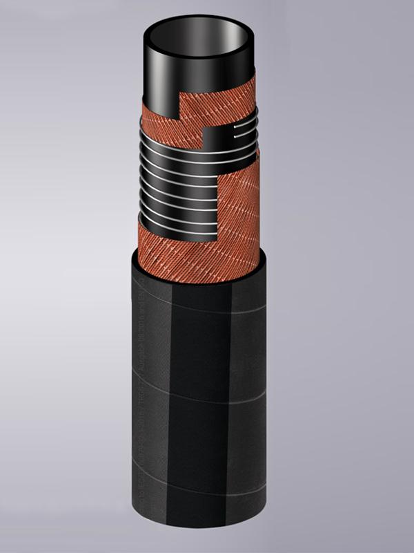 Резиновые рукава под химические вещества (черный цвет)